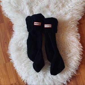 Hunter Original Tall Cable Knit Cuff Socks